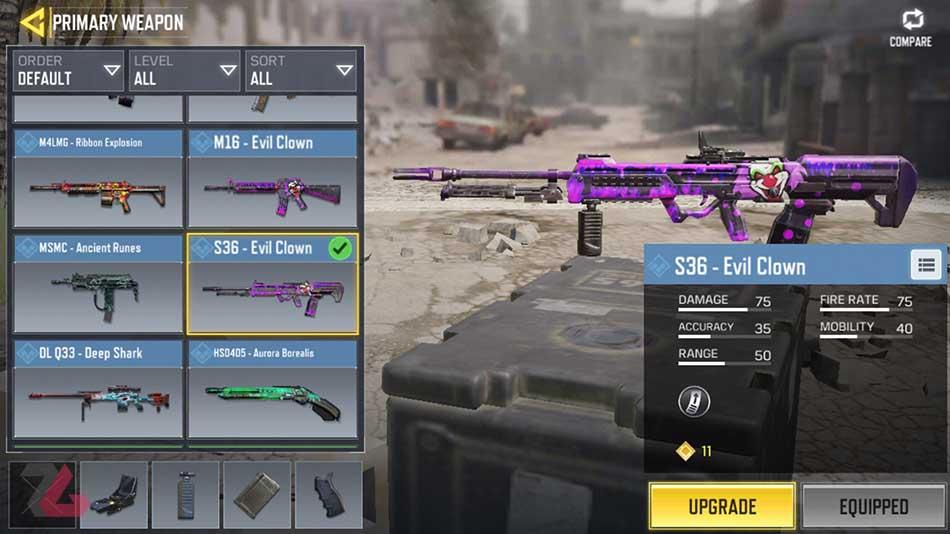 بهترین تفنگ های بازی کالاف دیوتی
