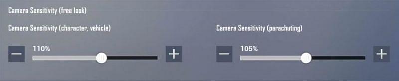 حساسیت دوربین