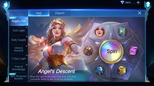ایونت Angel's Descent