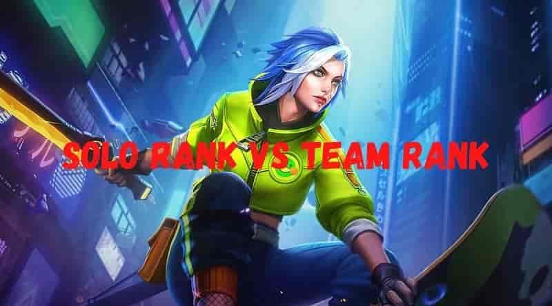 رنک تنهایی یا رنک تیمی